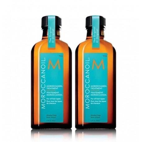 Pack Ahorro Aceite de Tratamiento Moroccanoil 2 Unidades 100 ml c/u