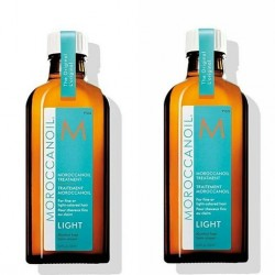 Moroccanoil Light Aceite de Tratamiento Light Pack Ahorro Dúo dos unidades 100 ml c/u