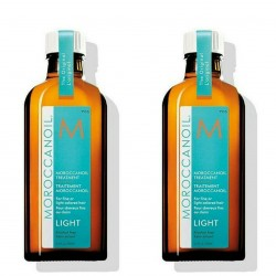 Pack Ahorro Aceite de Tratamiento Light Moroccanoil Dos Unidades 100 ml c/u
