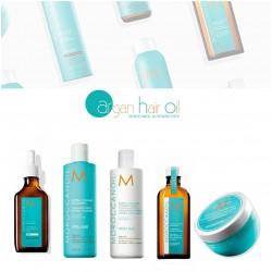Moroccanoil pack recomendado para cabello graso